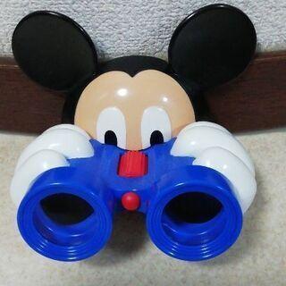 ミッキーマウス、望遠鏡、調節付き