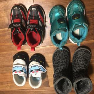 子供靴 17㌢メイン