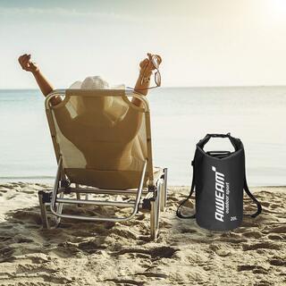 新品未使用 ドライバッグ 防水袋 乾燥袋 ショルダースベルト調整可能 - 靴/バッグ