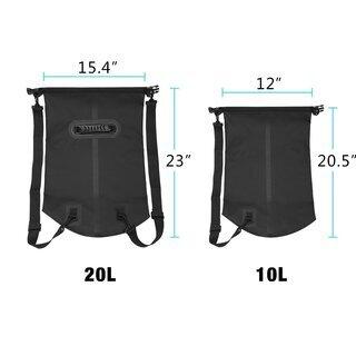 新品未使用 ドライバッグ 防水袋 乾燥袋 ショルダースベルト調整可能 - 売ります・あげます