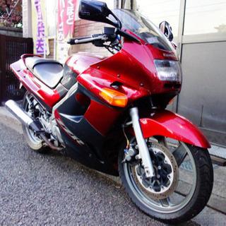 カワサキ ZZR250 単車 赤