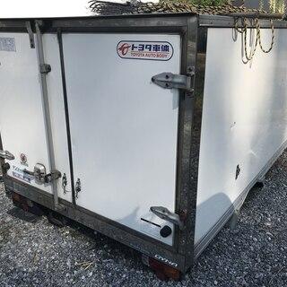 トラック荷台 冷凍車コンテナ 保冷 スライドドア付き プレハブ ...