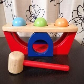 とんかちボール pintoy  木のおもちゃ