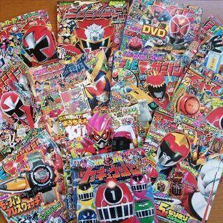 仮面ライダー、戦隊もの 雑誌 テレビマガジン等