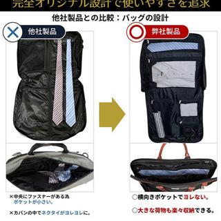 ガーメントバッグ スーツカバー 収納 持ち運び 袋 バッグ スー...