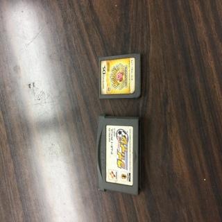 任天堂DSとゲームボーイアドバンスのソフト