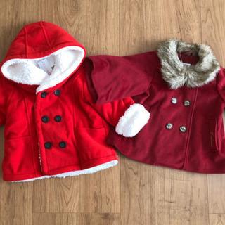 新品未使用 コート  95サイズ クリスマスやお正月のお出かけに...