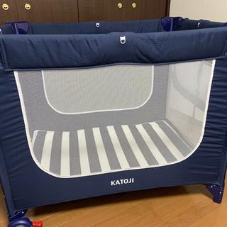 《ほぼ新品》KATOJIベビーベッド3ヶ月のみ使用