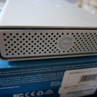 外付けHDD 6TB G-Technology (HGST) G...