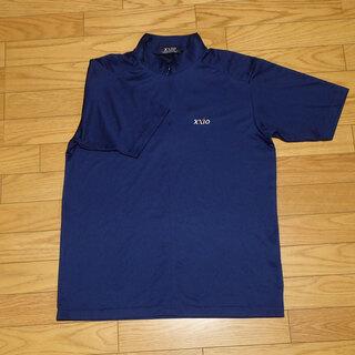 AA005 XXIO ゼクシオ 半袖 スポーツウェア シャツ ブルー