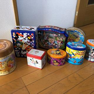 ディズニーのお菓子の空き缶