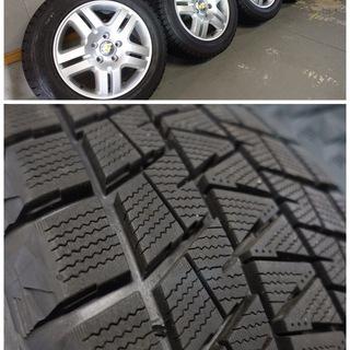 VW トゥアレグ 純正ホイール+スタッドレスタイヤ