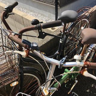 ママチャリと折り畳み自転車(お取引中)