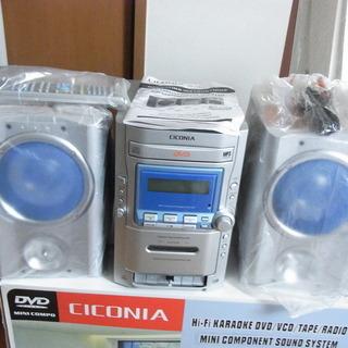 写真の商品です 。 DVD CD カセットテープ プレイヤーです。