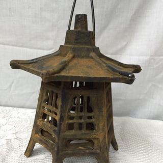 古い置物 灯籠 アンティーク レトロ ②