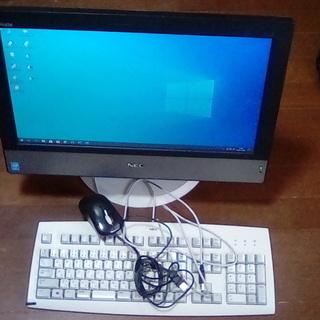 値下げ 13000円 NEC 一体型パソコン