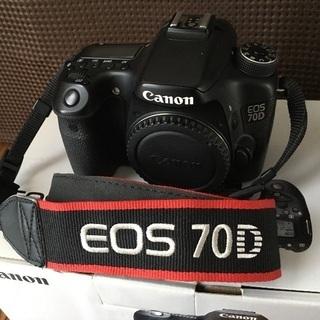 Canon キヤノン EOS70D ボディ 動作確認済