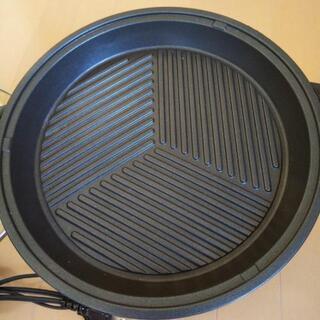 至急✴️【used】三洋  お鍋に焼きものに両方使用プレート鍋 - 家電