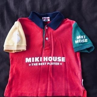ミキハウス 半袖ポロシャツ サイズ100 子供服