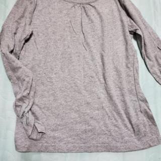 グレーロングTシャツ(150)