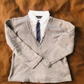 コムサイズム 長袖セミフォーマル サイズ110 子供服