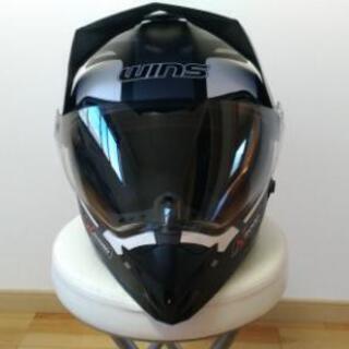 美品 オフロードヘルメット x-road おまけ付き
