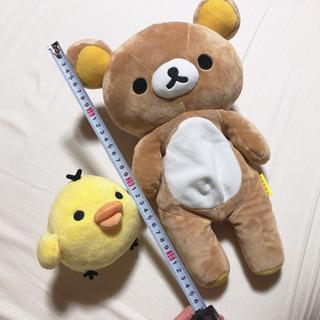リラックマ+キイロイトリ ぬいぐるみ