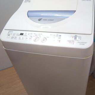 配達設置🚚 洗濯機 温風乾燥機能付き シャープ 5.5キロ カビ...