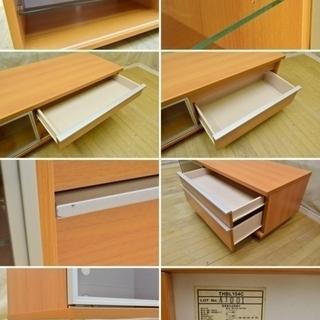 ◆シグマAPOシステム◆THBL154C (チェリー)◆ [60V型薄型テレビ対応 AVラック]◆ TVボード ◆Simprect - 家具