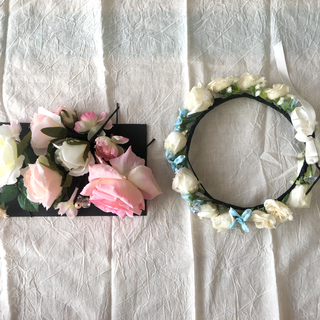 花かんむり 髪飾り ヘアアクセ