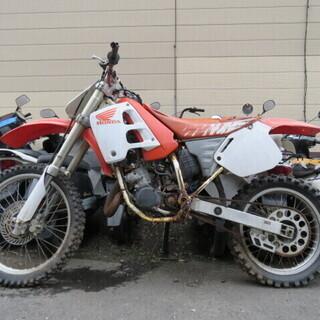 HONDA CR125R JE01 ホンダ 125cc ホワイト...