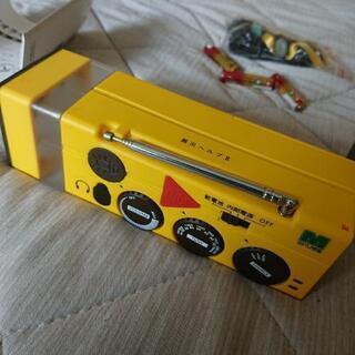 防災ラジオ 未使用品