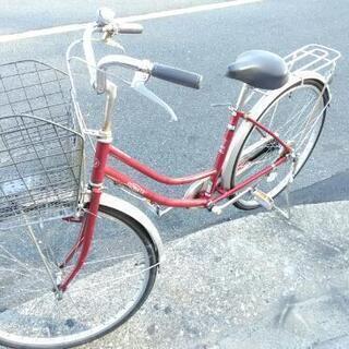 ♪ジモティー特価♪専門店の整備済み中古自転車 大型かご付き26型...