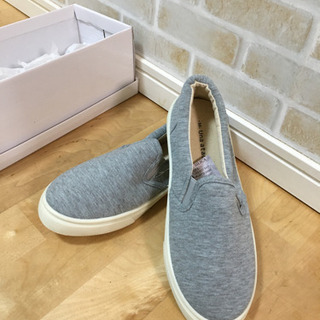 新品未使用☆GRAY   靴 Mサイズ