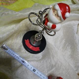 振り子のクリスマスオモチャ