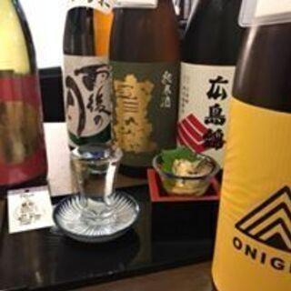 広島駅周辺で50種の広島地酒を飲める居酒屋 廣島ノ酒処 おたまや