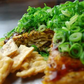 広島駅前で鉄板で食べれるお好み焼屋 お玉のキャベツ駅前ひろば店