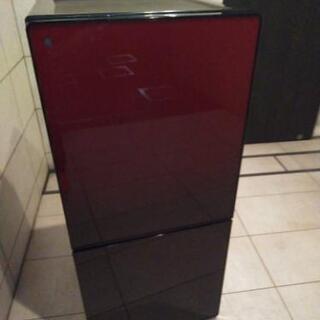 ユーイング 2016年モデル 冷蔵庫 110リッター ザクロレッド