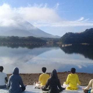 富士山の麓でヨガリトリートYoga Retreat under ...