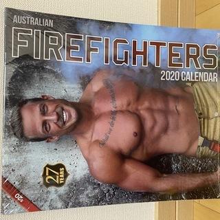 【イケメン】【日本未発売】オーストラリア 消防士カレンダー 2020