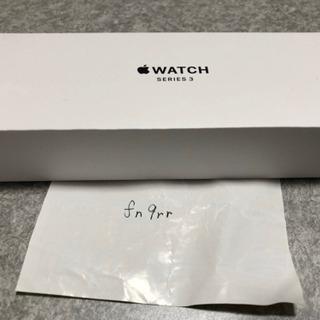 【新品未使用】Apple Watch series3 【GPS】...