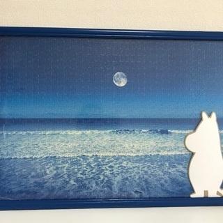 【取り引き中】ムーミン色紙と海のパズル