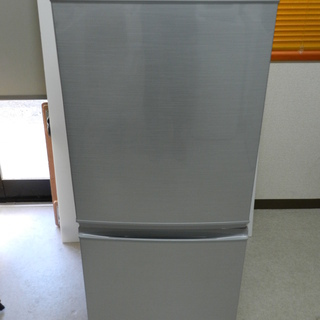 SHARP ノンフロン冷凍冷蔵庫 SJ-14Y 2014年製 都...