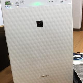 【取引中】SHARP/プラズマクラスター加湿空気清浄機/ホワイト...