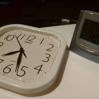 《姫路》CASIOカシオ☆掛け時計&置き時計