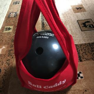 ボウリングボール(12ポンド?)バッグセット USED