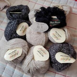 イタリア製毛糸 10玉 セーター一着分