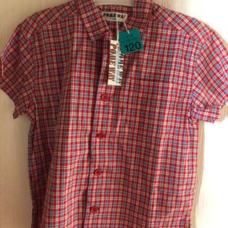 新品子供服シャツ