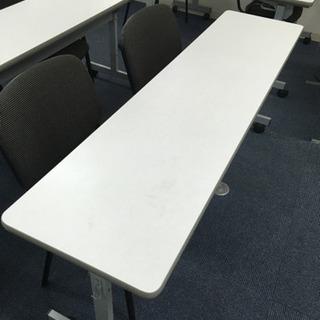 会議室テーブル スタックテーブル 折りたたみテーブル キャスター...