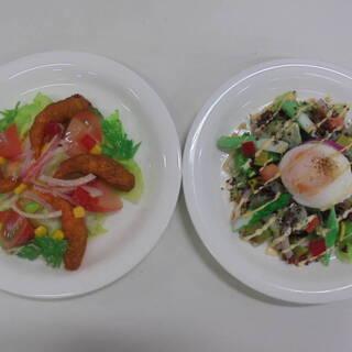 原寸大 食品サンプル  4皿セット